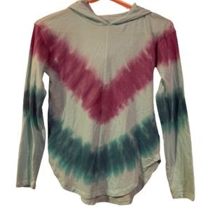 New SO Large 10/12 Sporty Long Sleeve Tees Tie Dye